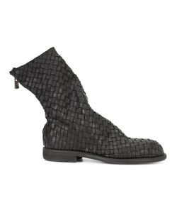 Guidi | Interlaced Ankle Boots