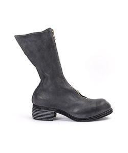Guidi | Block Heel Mid-Calf Boots Size 36