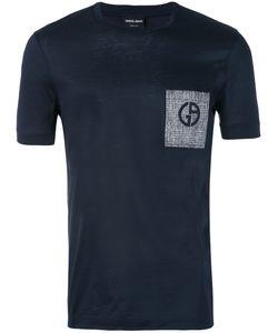 Giorgio Armani   Patch Pocket Logo T-Shirt