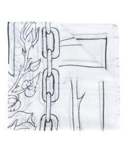 Enfants Riches Deprimes   Linear Print Scarf