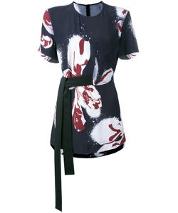 Cédric Charlier | Print Tied Blouse Size
