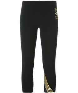 EA7 Emporio Armani | Stripe Cropped Trousers Size Medium
