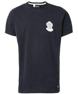 Bleu De Paname | Diving Bell Print T-Shirt Size Small