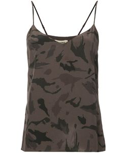 L'agence | Camouflage Print Camisole Xs