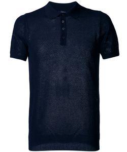 Roberto Collina | Net Polo Shirt Size 52