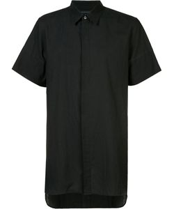 Ann Demeulemeester Grise | Concealed Fastening Shortsleeved Shirt Small