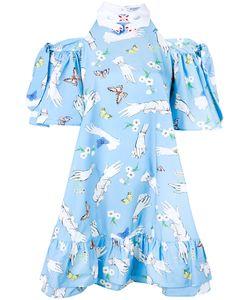 Vivetta   Pesce Paglia Printed Dress