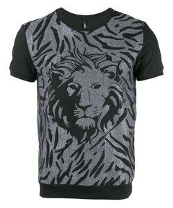 Versus   Lion Head Print T-Shirt Size Medium