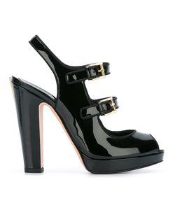 Alexander McQueen   Double Buckle Sandals 38.5