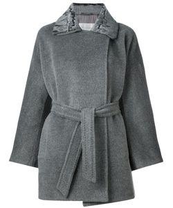 Max Mara | Bell Sleeves Belted Coat 40 Alpaca/Virgin
