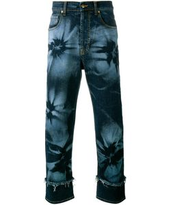 James Long | Hibiscus Print Jeans