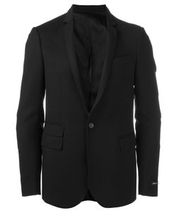 Les Hommes | Quilted Elbow Blazer 54