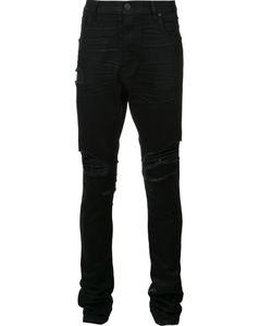 En Noir | Distressed Skinny Jeans