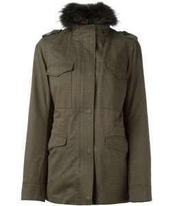 Army Yves Salomon | Detachable Fur-Collar Field Jacket 40