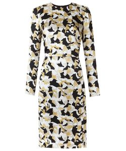 Andrea Marques | Long Sleeves Printed Dress 38