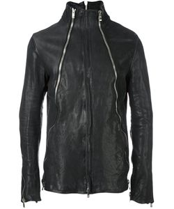 Incarnation | Zipped Leather Jacket