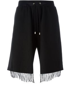 Andrea Crews | Fringed Shorts