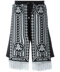 Andrea Crews | Sling Scarf Detail Shorts