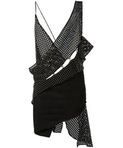 Anthony Vaccarello | Woven Asymmetric Dress 38