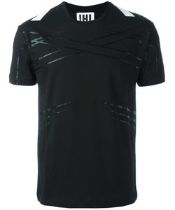 Les Hommes Urban | Stripes Detail T-Shirt