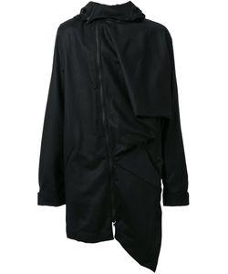 Moohong | Asymmetric Hooded Coat 50