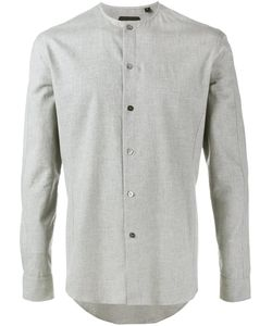 Curieux   Collarless Shirt