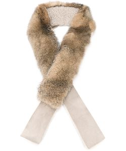32 Paradis Sprung Frères | Fox Fur And Shearling Scarf