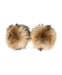 N.Peal | Raccoon Fur Cuffs