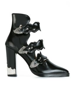 Toga Pulla | Buckle Strap Ankle Boots 39