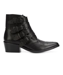 Toga | Four Buckle Boots