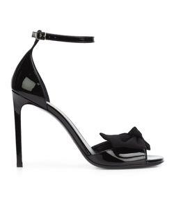 Saint Laurent   Classic Jane 105 Bow Sandals 40