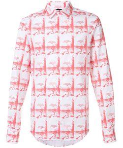 Hood By Air | Printed Button Down Shirt