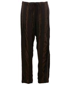 Uma Wang | Striped Straight-Leg Trousers Medium