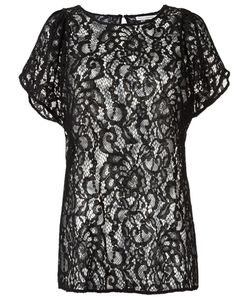 Martha Medeiros | Sheer Lace Blouse