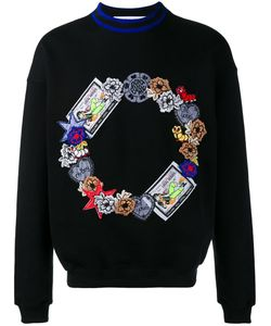 James Long   Embroidered Sweatshirt