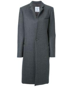 Fad Three | Classic Single Breasted Coat Large