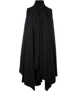 A Tentative Atelier | Sleeveless Draped Shirt Dress
