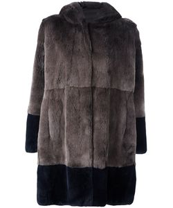 Manzoni 24 | Rabbit Fur Hooded Coat