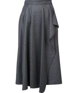 Maison Rabih Kayrouz | Pleated Draped Detail Skirt