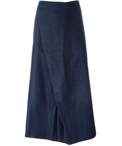 Charlie May | Asymmetric Denim Skirt