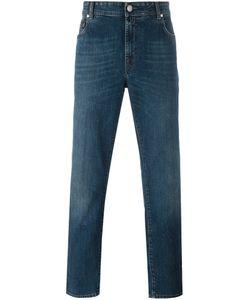 Borrelli | Stonewashed Slim-Fit Jeans