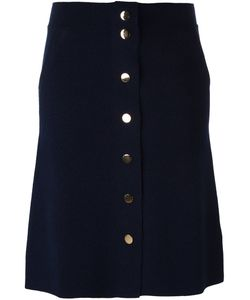 Allude | Buttoned Skirt