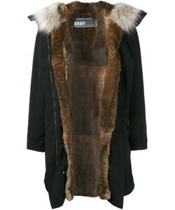 Army Yves Salomon | Rabbit Fur Lined Parka 38