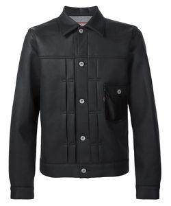 Junya Watanabe Comme Des Garçons   Man Stitched Leather Jacket Men