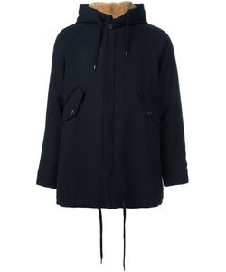 A Kind Of Guise | Concealed Fastening Hooded Coat