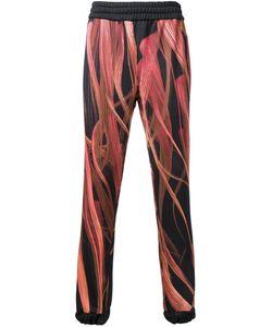 Nicopanda | Fur Print Track Pants