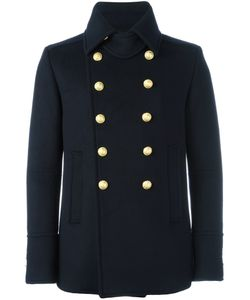 Balmain | Cropped Double Breasted Overcoat