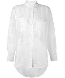 Equipment | Semi Sheer Jacquard Shirt