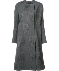 Narciso Rodriguez | Textured Check Coat 40