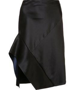 Narciso Rodriguez | Contrast Trim Asymmetric Skirt